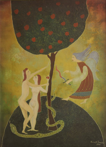 Košut Tivadar - Adam and Eve